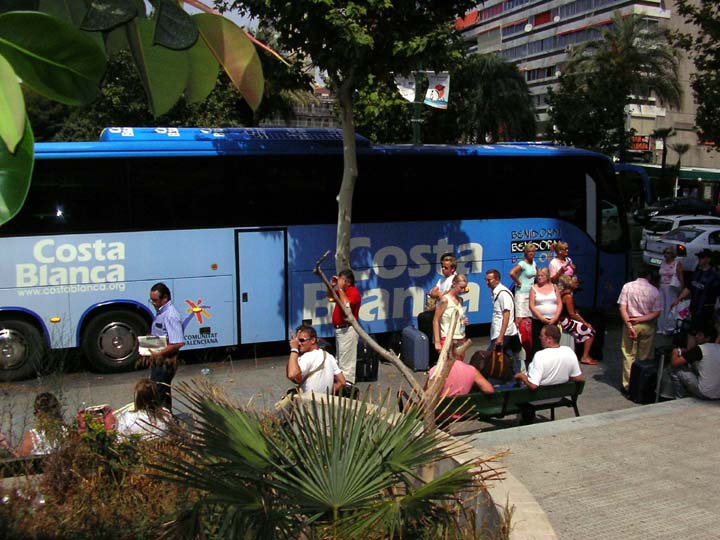 Benidorm Airport Bus